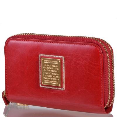 Ключница-кошелек женская кожаная WANLIMA (ВАНЛИМА) W82090230117-red Wanlima