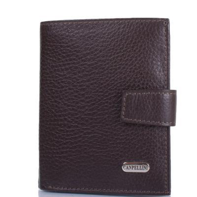 Мужской кожаный кошелек CANPELLINI (КАНПЕЛЛИНИ) SHI1102-14 Canpellini