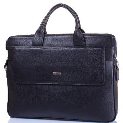 """Мужская кожаная сумка с отделением для ноутбука с диагональю экрана до 13,3"""" DESISAN (ДЕСИСАН) SHI1348-01 Desisan"""
