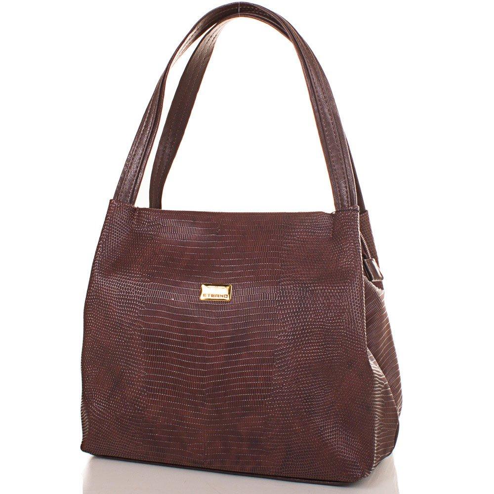 Женская сумка из качественного кожезаменителя ETERNO (ЭТЕРНО) ETMS35179-10-1 Eterno