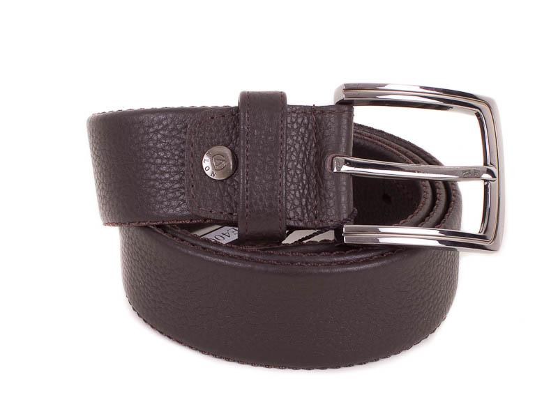 Мужской кожаный ремень ALON (ЭЛОН) MISS16568 32617