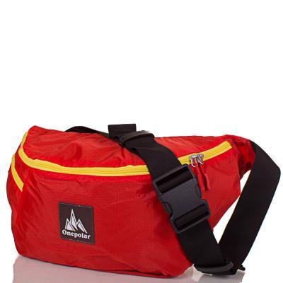Женская поясная сумка ONEPOLAR (ВАНПОЛАР) W5271-orange Onepolar