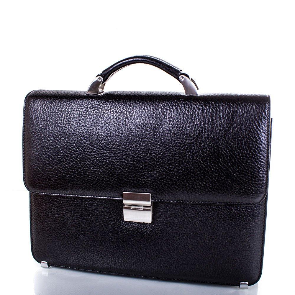 Кожаный мужской портфель DESISAN (ДЕСИСАН) SHI2005-2FL Desisan