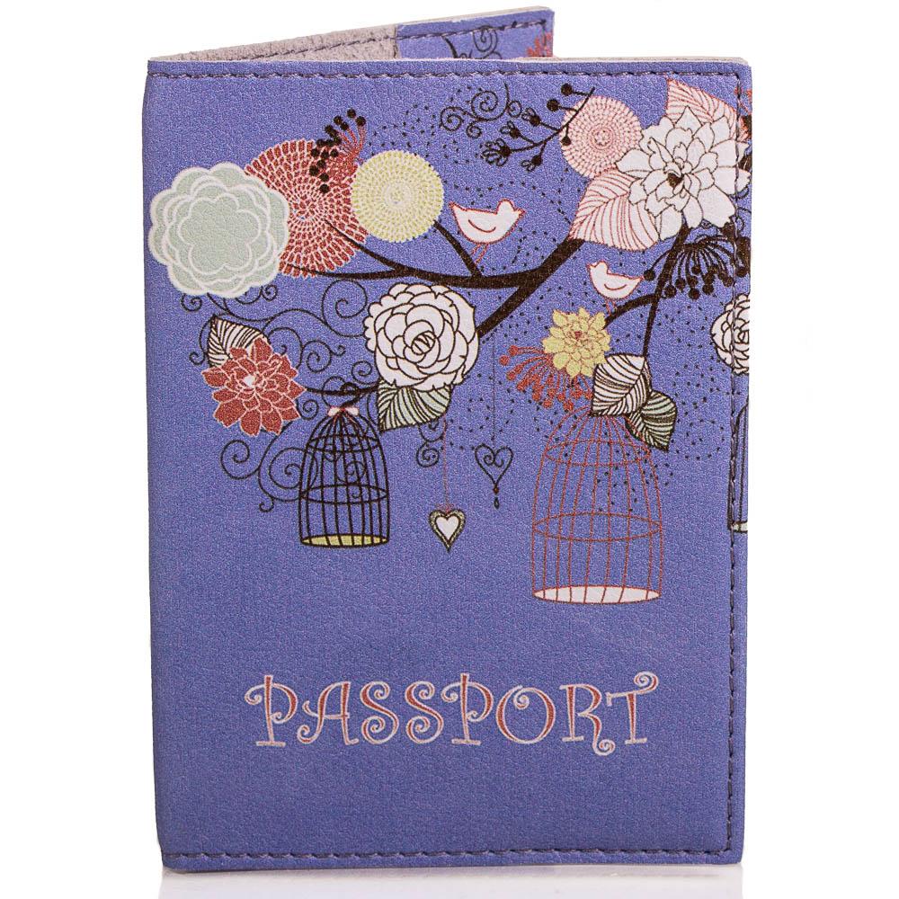 Женская обложка для паспорта PASSPORTY (ПАСПОРТУ) KRIV017 Passporty