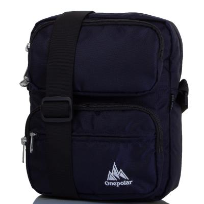 Мужская спортивная сумка ONEPOLAR (ВАНПОЛАР) W5630-navy Onepolar