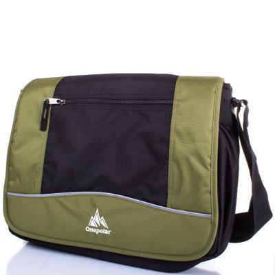 Мужская спортивная сумка ONEPOLAR (ВАНПОЛАР) W308-green Onepolar
