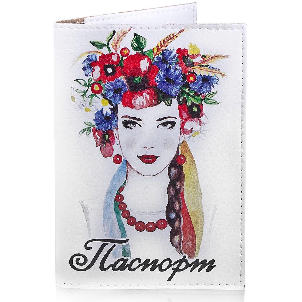 Женская обложка для паспорта PASSPORTY (ПАСПОРТУ) KRIV141 Passporty