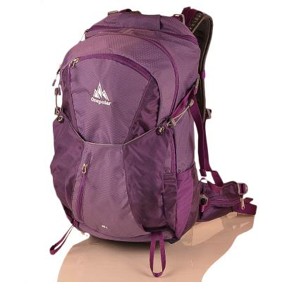 Женский рюкзак туриста ONEPOLAR (ВАНПОЛАР) W1983-violet Onepolar