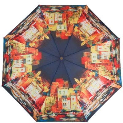 Зонт женский компактный полуавтомат ZEST (ЗЕСТ) Z24665-4007 Zest