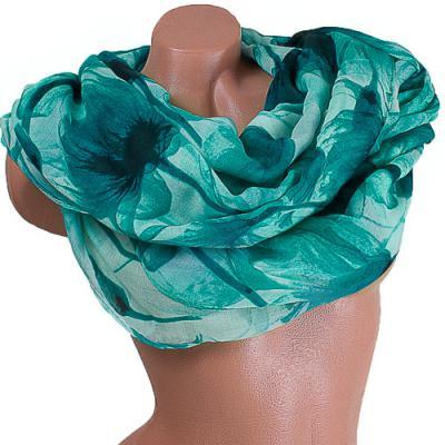 Женский хлопковый шарф 183 на 86 см  ETERNO (ЭТЕРНО) ES0908-12-2-Y Eterno