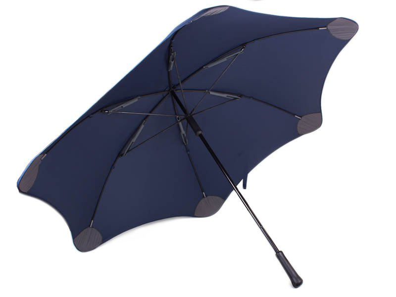 Противоштормовой зонт-трость мужской механический с большим куполом BLUNT (БЛАНТ) Bl-xl-2-navy Blunt