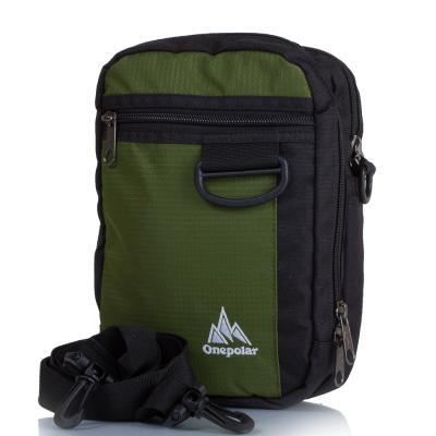 Мужская спортивная сумка ONEPOLAR (ВАНПОЛАР) W3023-green Onepolar