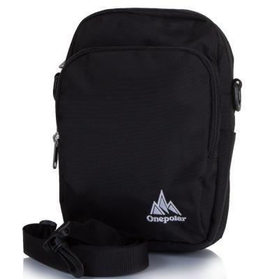 Мужская спортивная сумка ONEPOLAR (ВАНПОЛАР) W5673-black Onepolar