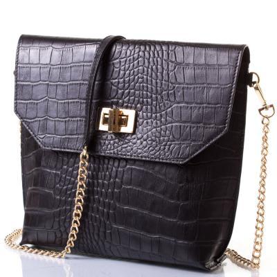 Женская кожаная сумка-клатч VALENTA (ВАЛЕНТА) VBE609531 Valenta