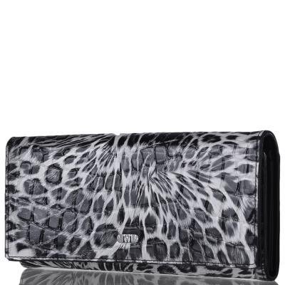 Женский кожаный кошелек WANLIMA (ВАНЛИМА) W31400530013-black Wanlima