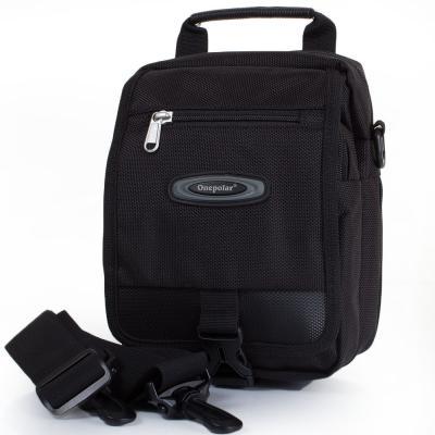 Мужская спортивная сумка ONEPOLAR (ВАНПОЛАР) W5077-black-1 Onepolar