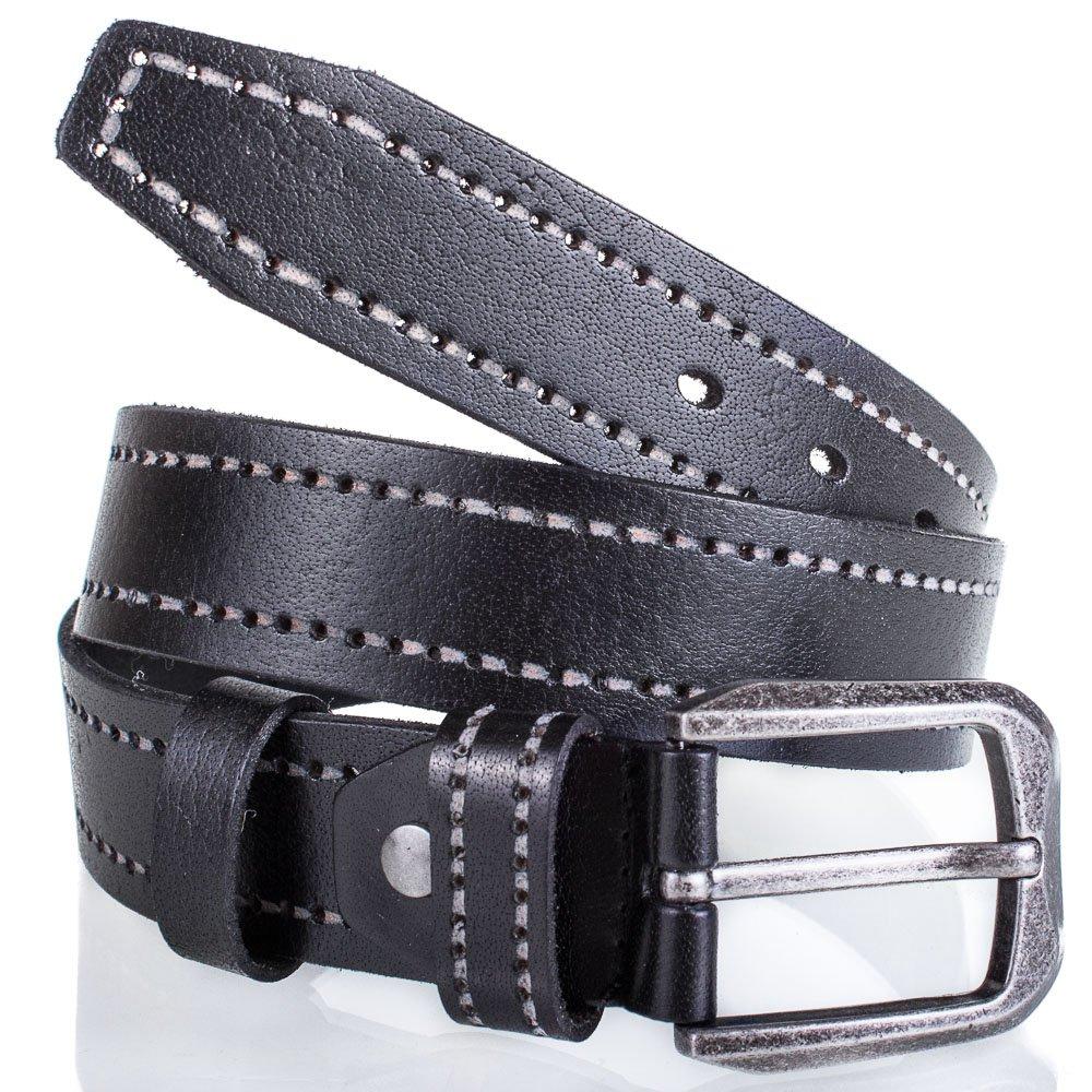 Мужской кожаный ремень ALON (ЭЛОН) MS16637 45451