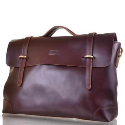Мужской кожаный портфель ETERNO (ЭТЭРНО) ET3122-3-brown Eterno