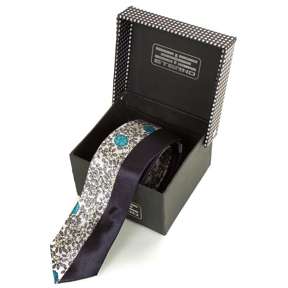 eterno Мужской узкий шелковый галстук ETERNO (ЭТЕРНО) EG619-2