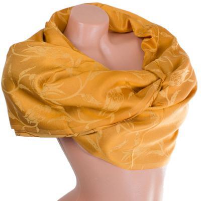Женский двусторонний шелковый шарф 176 на 69 см AHUSE SAT17276