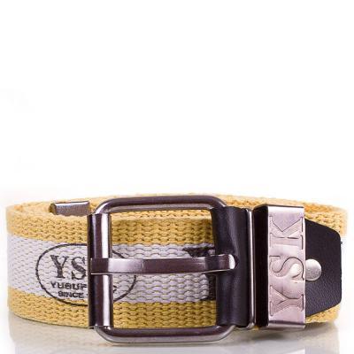 Мужской текстильный ремень Y.S.K. (УАЙ ЭС КЕЙ) SHI-T-3 Y.S.K