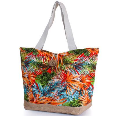 Женская пляжная тканевая сумка ETERNO (ЭТЕРНО) DCT-296-2-04 Eterno