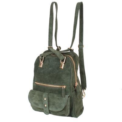 32e2208aa854 Рюкзак женский замшевый LASKARA (ЛАСКАРА) LK-DM229-olive купить в ...