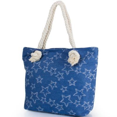 Женская пляжная джинсовая сумка ETERNO (ЭТЕРНО) DCA-004-02 Eterno