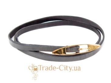 Ремень узкий женский кожаный ETERNO (ЭТЕРНО) A2005-9-grey Eterno