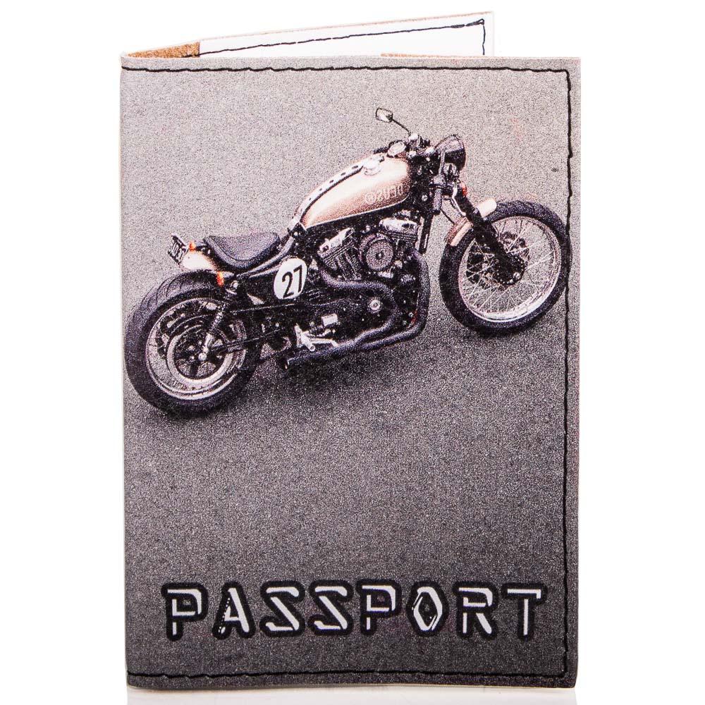 Мужская обложка для паспорта PASSPORTY (ПАСПОРТУ) KRIV076 Passporty