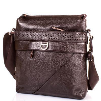 1bbaf3c457b6 Мужская кожаная сумка-планшет TOFIONNO (ТОФИОННО) TU619-98-brown ...