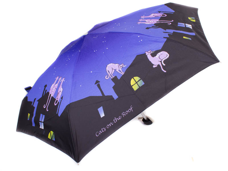 Зонт женский облегченный компактный механический ZEST (ЗЕСТ) Z55516-1 Zest