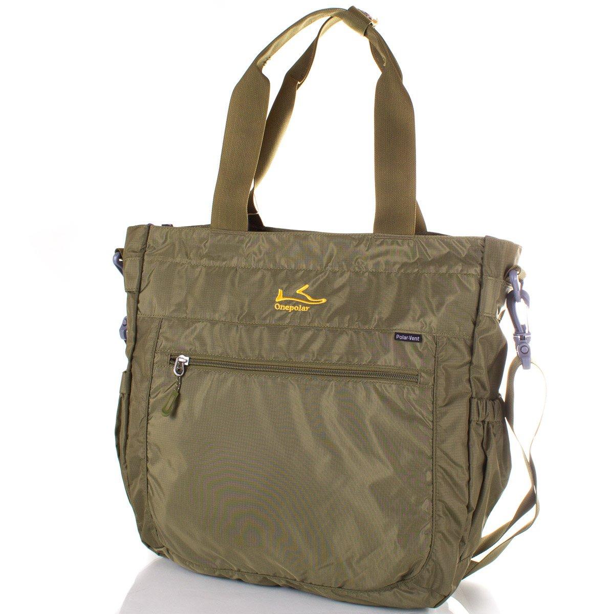 d059185cf71a Мужская спортивная сумка через плечо ONEPOLAR (ВАНПОЛАР) W5239-green ...