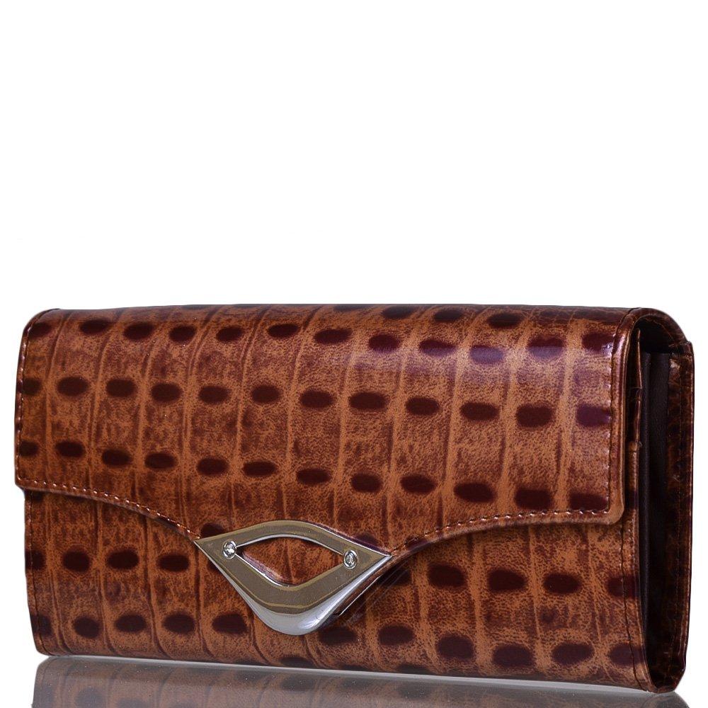 ab50a8b05379 Женский кожаный кошелек BALISA (БАЛИСА) MISS17434-brown купить в ...
