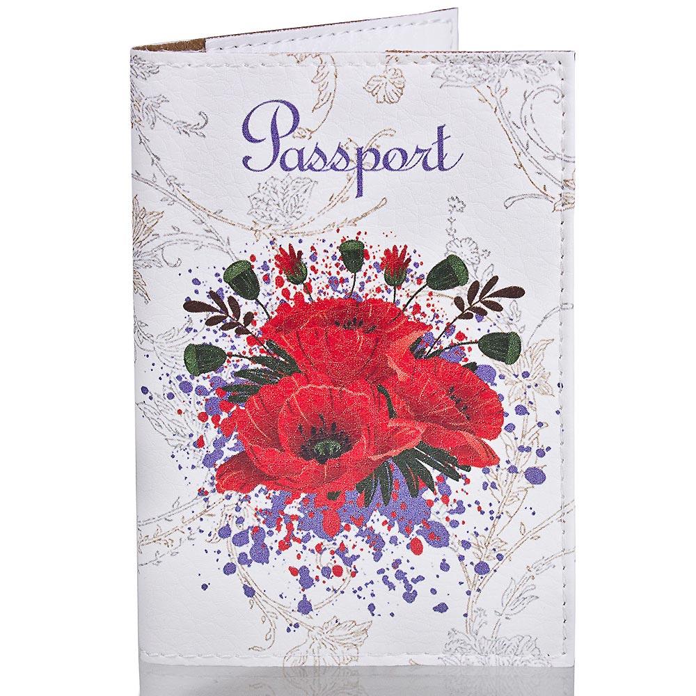 Женская обложка для паспорта PASSPORTY (ПАСПОРТУ) KRIV008 Passporty