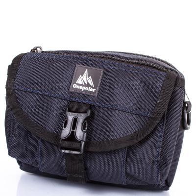 Мужская спортивная сумка ONEPOLAR (ВАНПОЛАР) W3172-navy Onepolar
