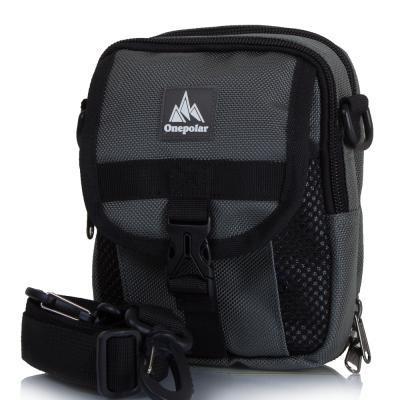 Мужская спортивная сумка ONEPOLAR (ВАНПОЛАР) W3176-grey Onepolar