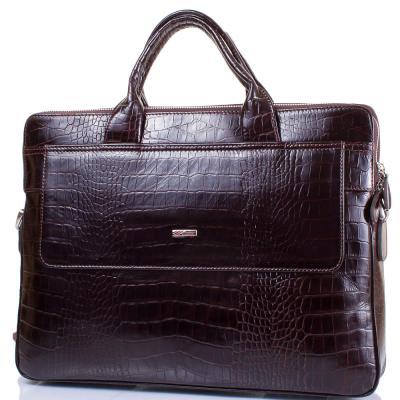 """Мужская кожаная сумка с отделением для ноутбука с диагональю экрана до 13,3"""" DESISAN (ДЕСИСАН) SHI1348-19 Desisan"""