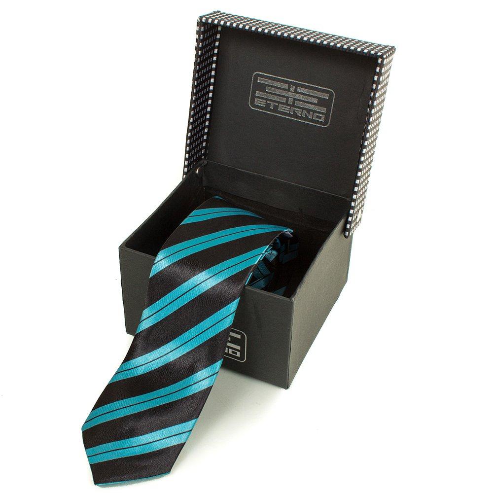 eterno Мужской узкий шелковый галстук ETERNO (ЭТЕРНО) EG617