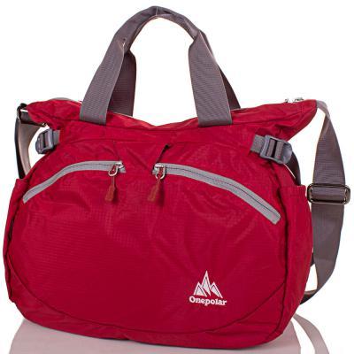 Женская спортивная сумка через плечо ONEPOLAR (ВАНПОЛАР) W5220-red Onepolar