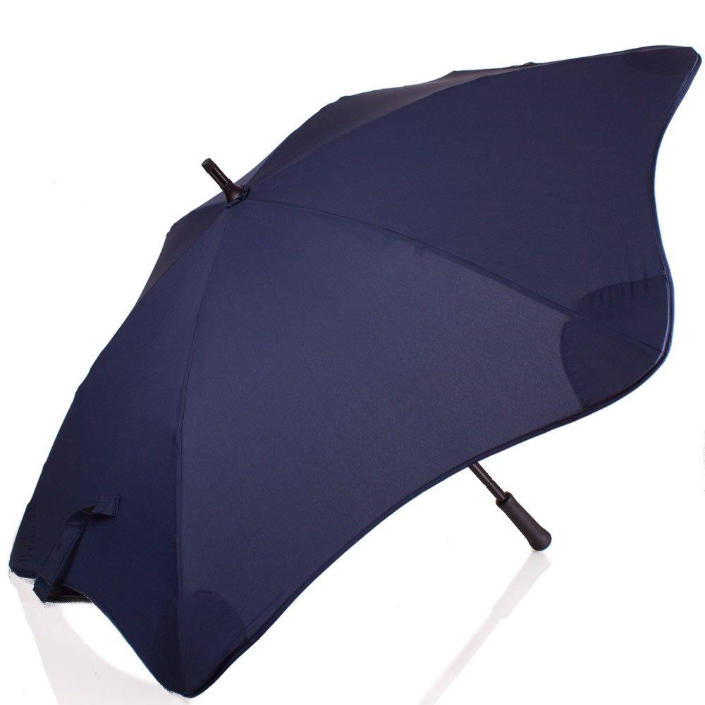 Противоштормовой зонт-трость мужской механический BLUNT (БЛАНТ) Bl-mini-navy Blunt