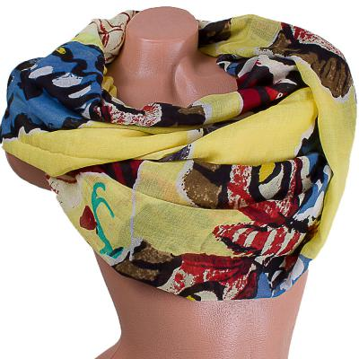 Женский хлопковый шарф 184 на 86 см  ETERNO (ЭТЕРНО) ES0908-2-1-Y Eterno