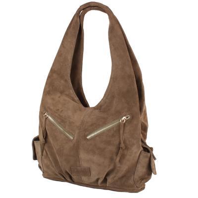 d2667ed6c1d3 Женская замшевая сумка LASKARA (ЛАСКАРА) LK-DM230-khaki купить в ...