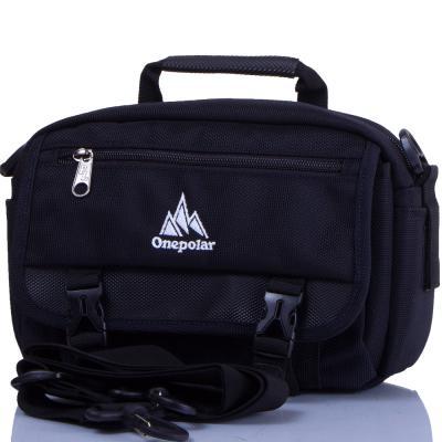 Мужская спортивная сумка ONEPOLAR (ВАНПОЛАР) W5078-navy Onepolar