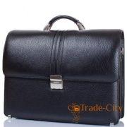 a64f2e65e9d1 Кожаный мужской портфель с отделением для ноутбука с диагональю экрана до  12,6