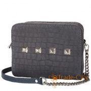 01ba7fdd89e5 Женская дизайнерская замшевая сумка-клатч GURIANOFF STUDIO (ГУРЬЯНОВ СТУДИО)