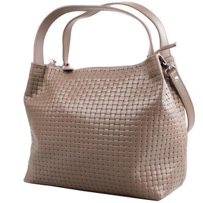 Женская кожаная сумка ETERNO (ЭТЕРНО), AN-K142KPCH-XL